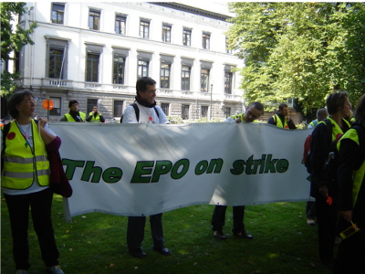 Software patents protest against EPO