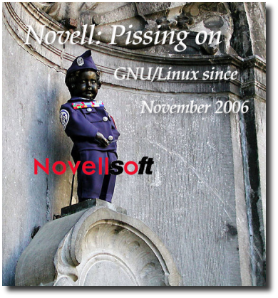 Novell pisses on GNU/Linux codebase since 2006