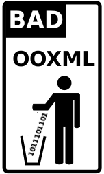 OOXML is bad