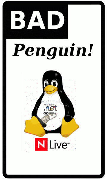 A bad penguin -- Novell