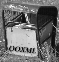 OOXML on the trash can