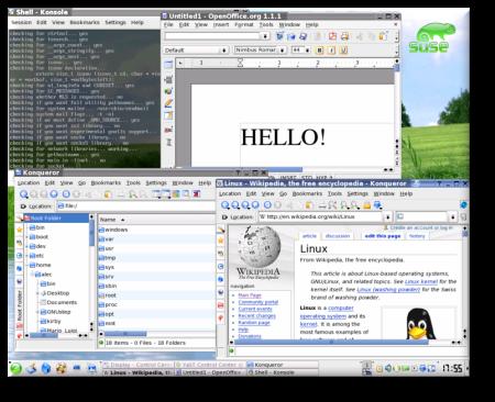 SUSE KDE