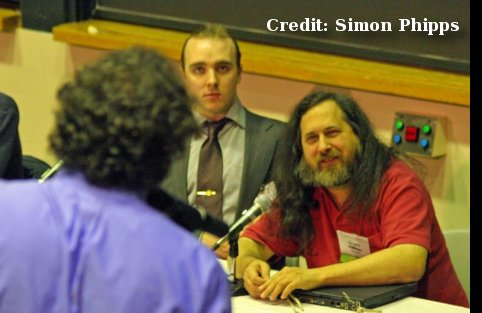 Richard Stallman and the GPLv3