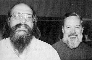 Ken and Dennis (UNIX)
