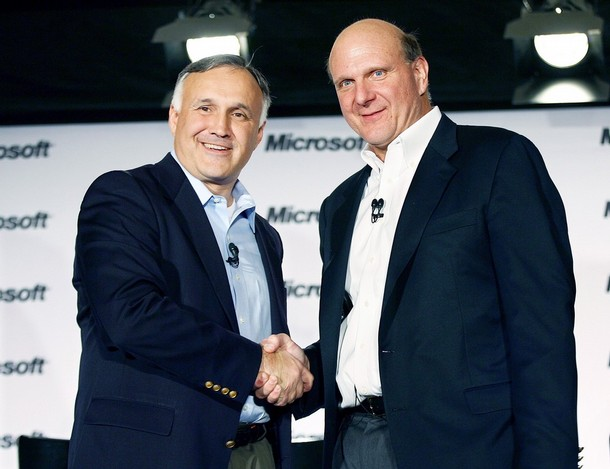 Ron Hovsepian and Steve Ballmer
