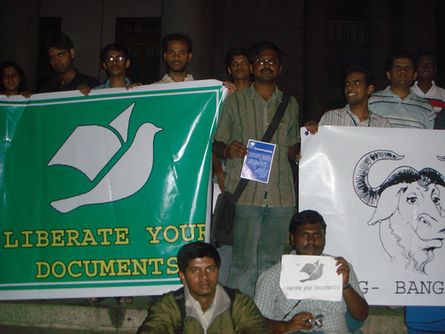 OOXML protests in India
