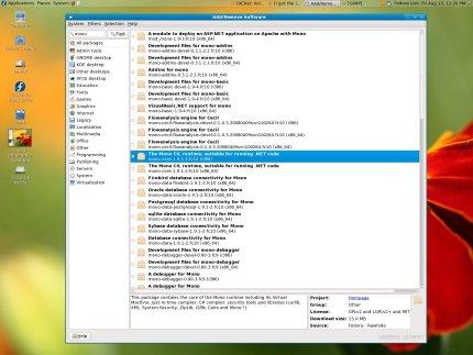 GNOME Fedora Install