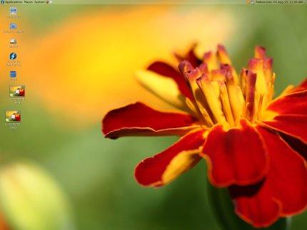GNOME Fedora Desktop