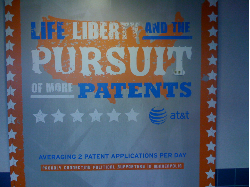 AT&T for patents
