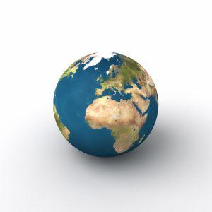Africa globe