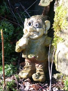 Troll in the garden