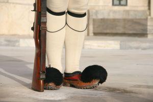 Guard's feet