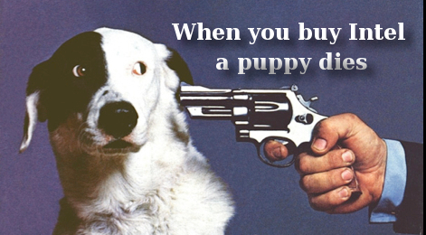 Intel puppy