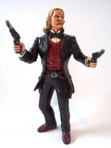 Cowboy, gun-slinging man