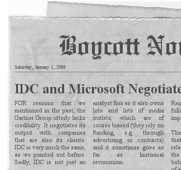 IDC headline