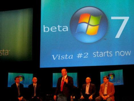 Vista 7 starts now