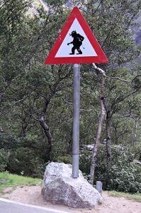 Trolls sign