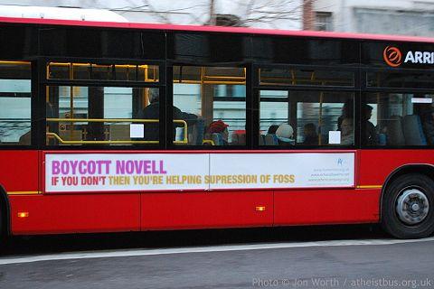 Boycott Novell bus