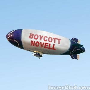 Novell blimp