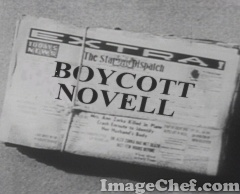 Novell newspaper