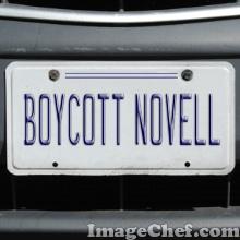 Novell bumper sticker