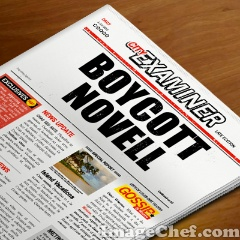 Boycott Novell newspaper