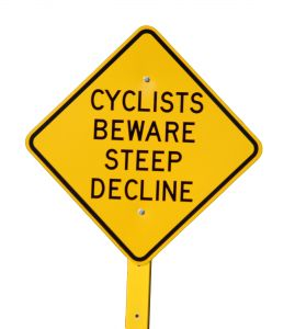 Cyclers sign