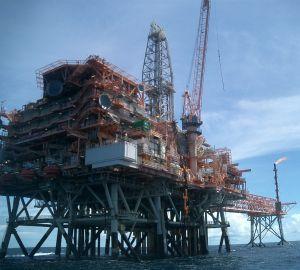 Offshore gas platform