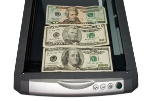 Dollars in the scanner