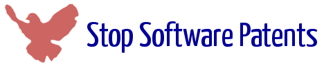 Logo - stop software patents