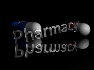 Pills 3d render 3d