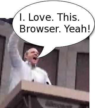 Steve Ballmer loves Firefox