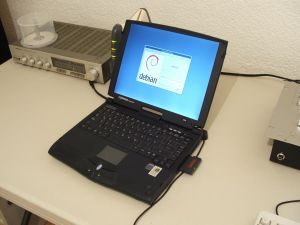 Debian on a laptop
