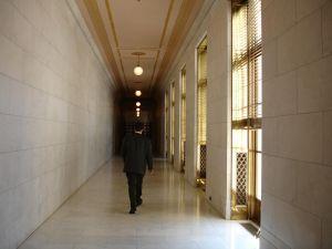 U.S. Supreme Court hallway
