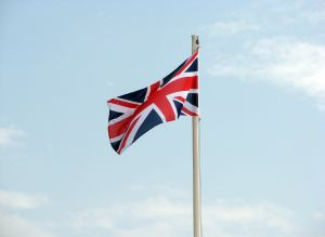 Land of hope and glory - UK flag