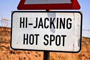 Hi-jacking hotspot
