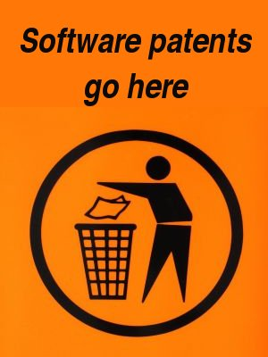 Trash software patents