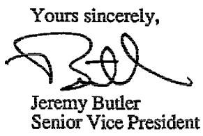 Butler signature