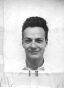 Richard Feynman ID badge