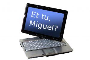 Miguel de Icaza tablet