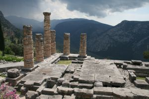 Delphi archaeological site, Greece