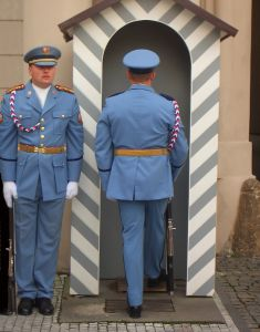 Changing of the Prague guard