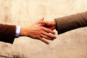 Handshake communication