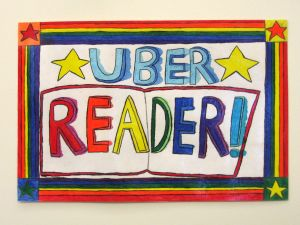 Uber reader sign