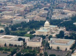 Washington from above