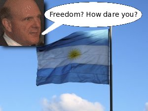 Argentina and ballmer