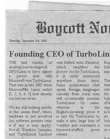 TurboLinux news