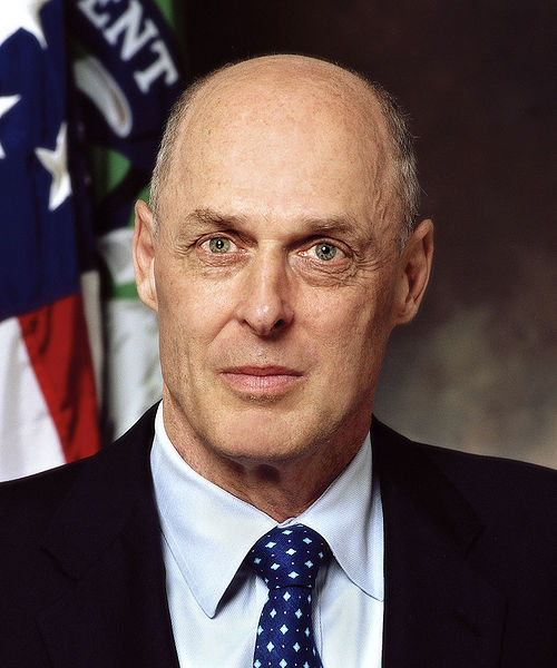 Henry Paulson - official Treasury photo (2006)