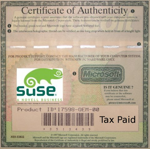 Certification for SUSE