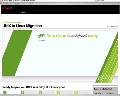 Novell Unix